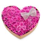 핑크하트 꽃박스